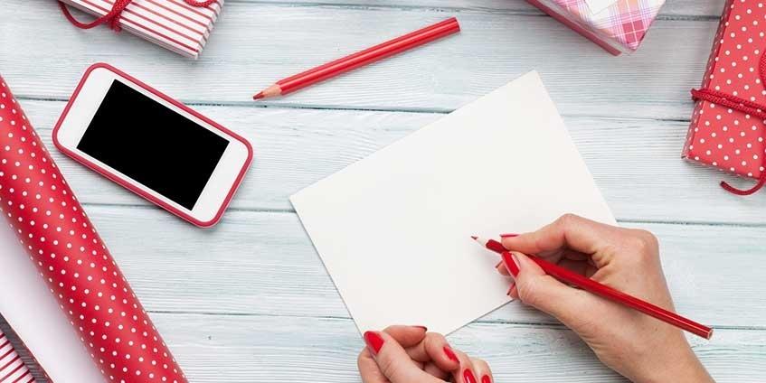 Handgeschriebene Grusskarten im digitalen Zeitalter