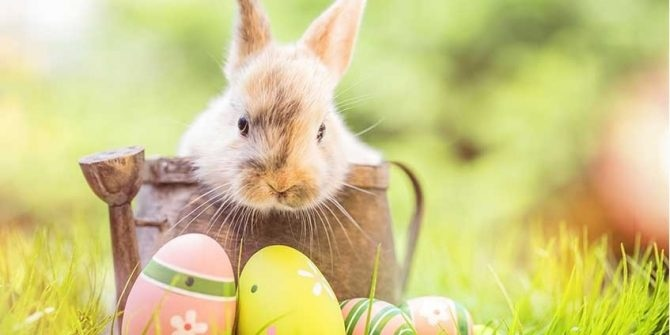 Ostern im Büro