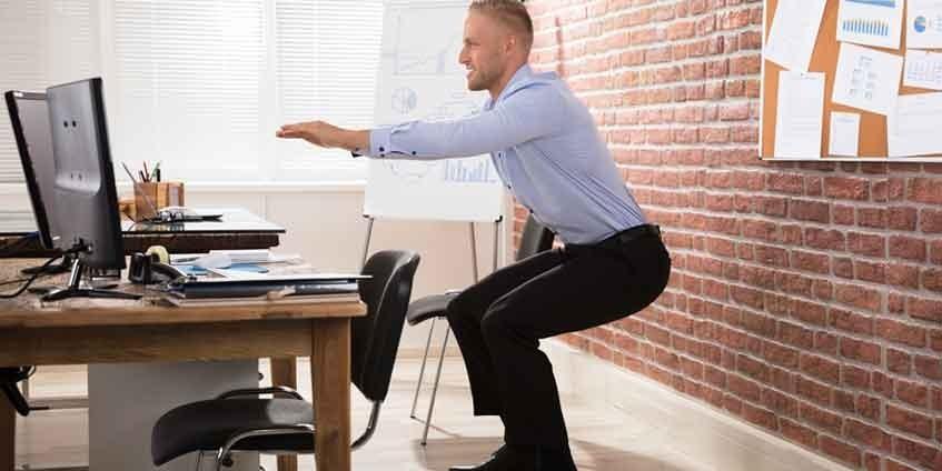 Fitness Fürs Büro Mit Kleinen übungen Grosses Bewirken
